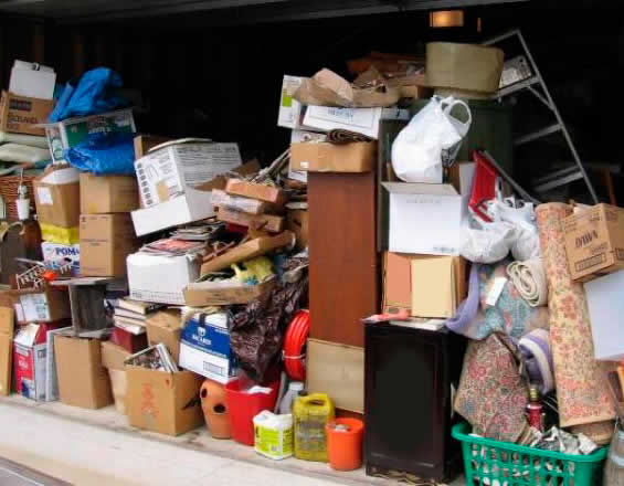 House clearance items we remove include junk and general rubbish