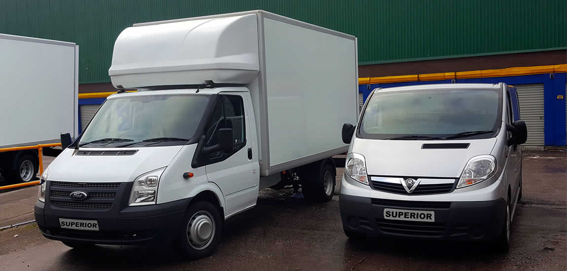 Superior House Clearance services, Van sizes for all removals