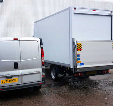 Superior House clearance Services Kidderminster vans with tail lift