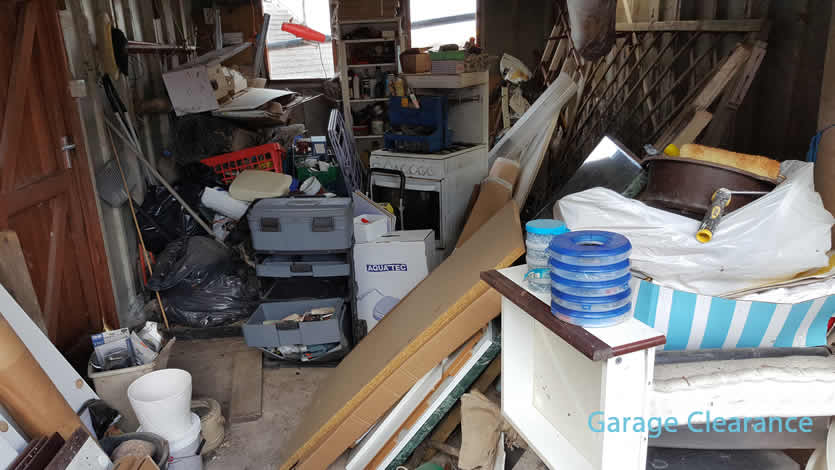 Garage clearance services