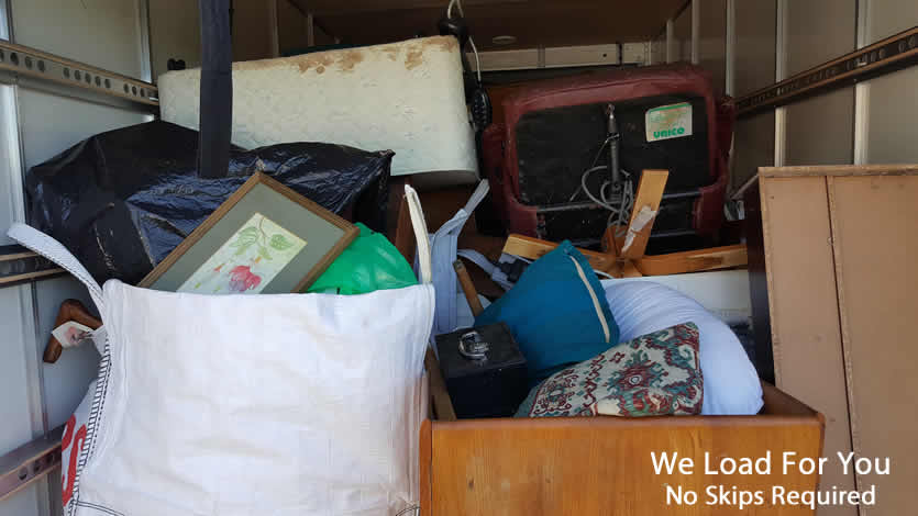 House Clearance no skips required as we load for you