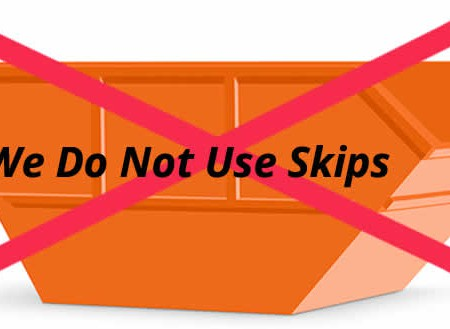 Why Superior house clearance does not use skips