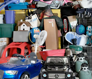 Superior House clearance services offer Storage units clearance