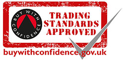 Logo for the UK trading Standards License